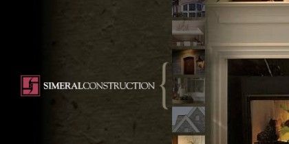 Simeral Construction website