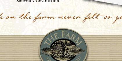 The Farm on Quarry Road advertising