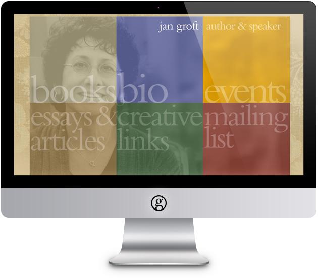 jan groft / author web site