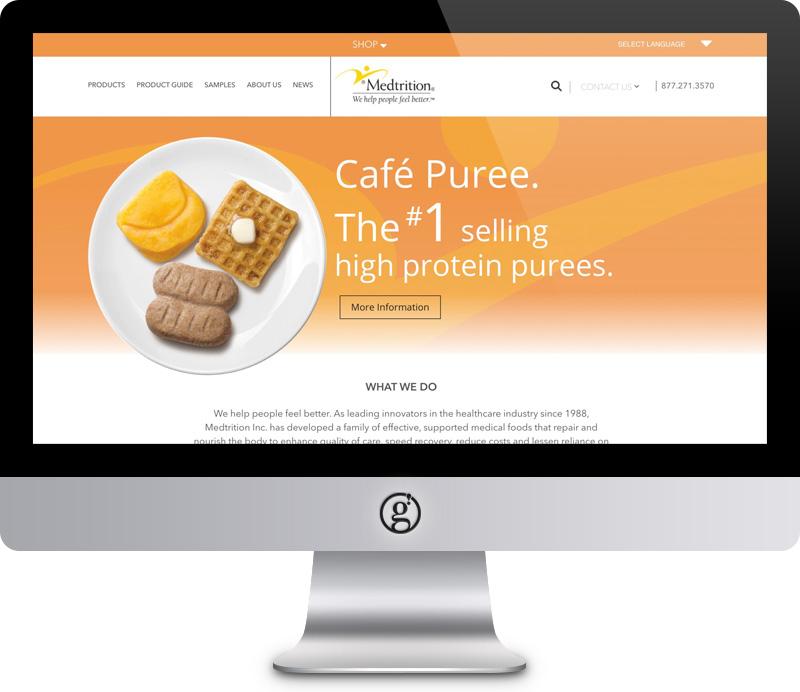 Medtrition Website by Groft Design