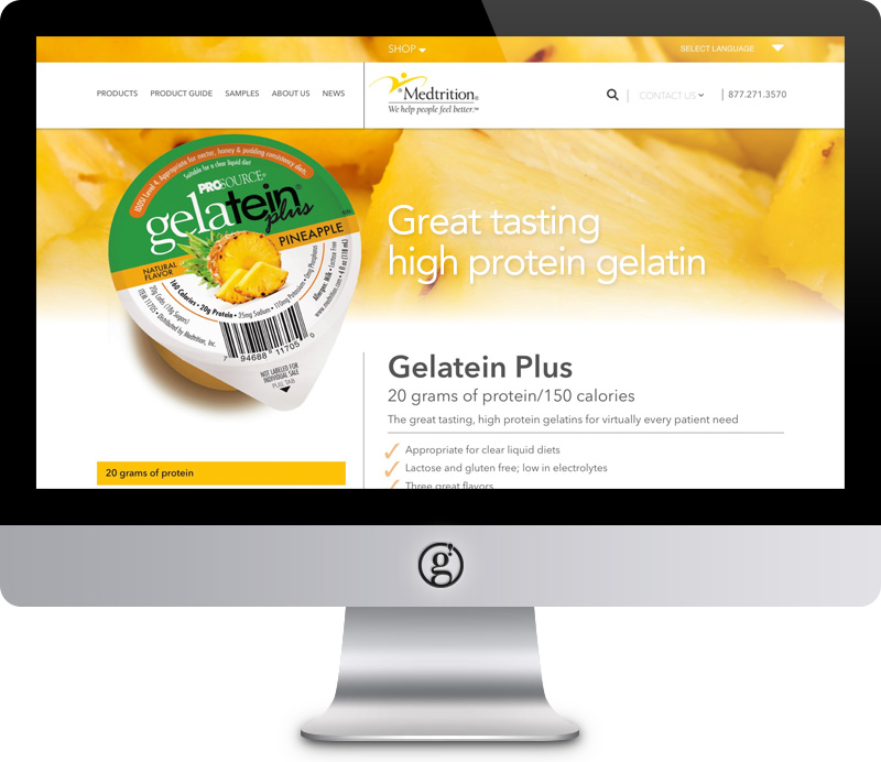 Medtrition Website by Groft Design